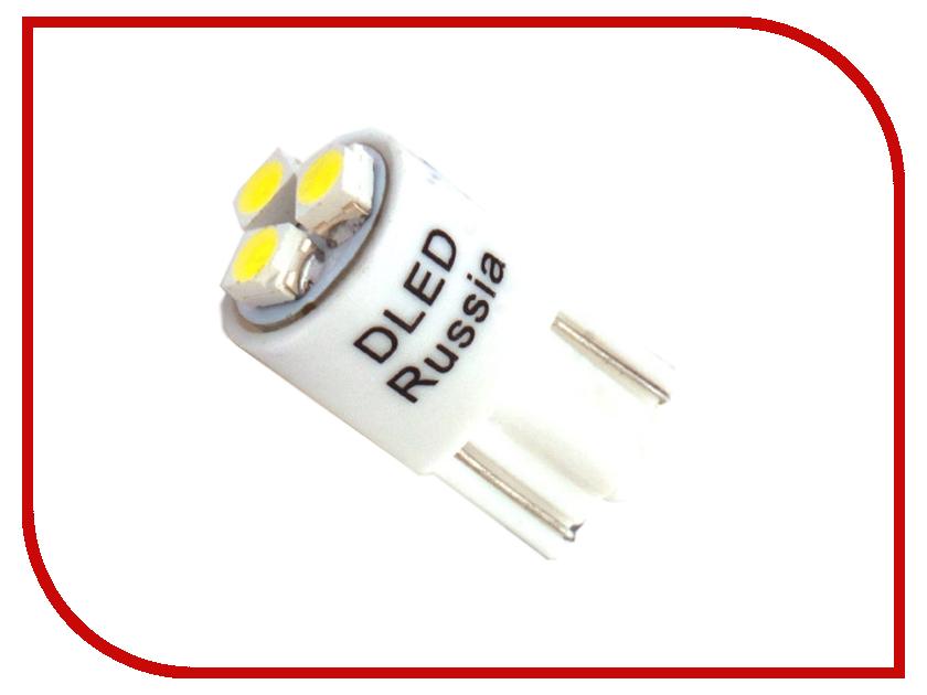 Лампа DLED T10 W5W 3 SMD 3528 3785