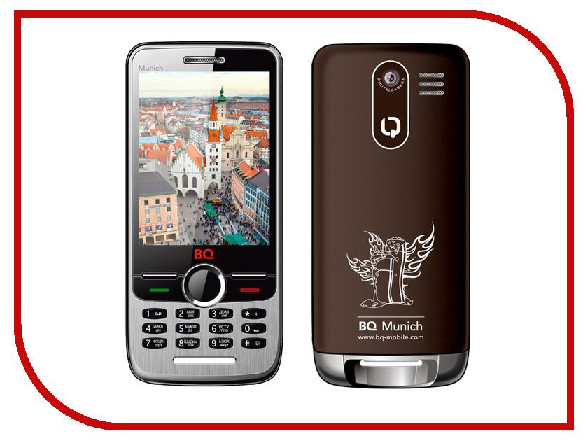 Сотовый телефон BQ BQM-2803 Munich Brown<br>