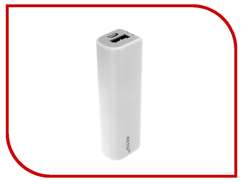 Аккумулятор Activ PowerLife 2600mAh 2600-02 White 48232