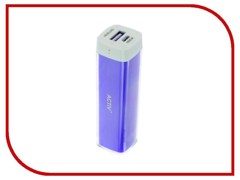 Аккумулятор Activ PowerLife 2600 mAh 2600-01 Dark-Blue 48238
