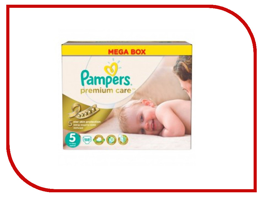 Подгузники Pampers Premium Care Junior 11-25кг 88шт 4015400541813 4015400686101 pampers