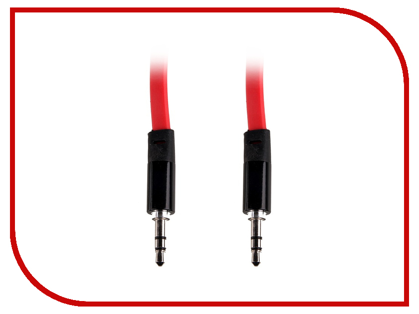 Аксессуар Activ AU1 3.5 Jack/M - 3.5 Jack/M 1.2m Red 40566