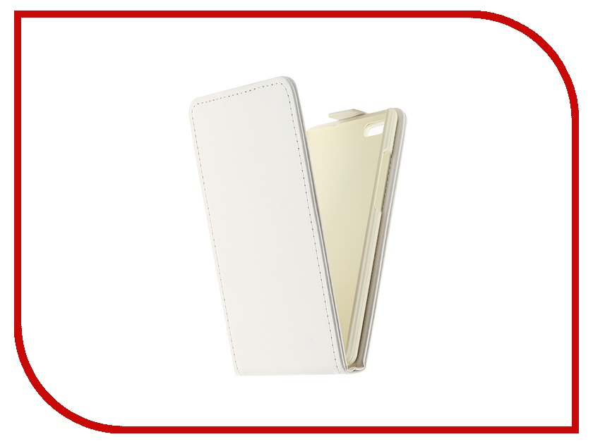 Аксессуар Чехол-флип Huawei P8 Lite SkinBox White T-F-HP8L<br>