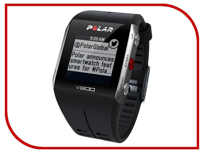 Пульсометр Polar V800 HR Black<br>