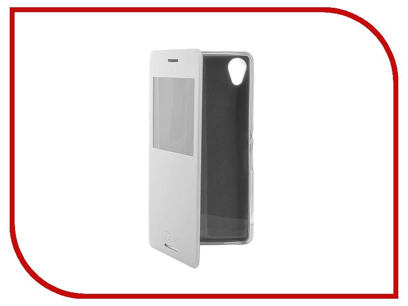 Аксессуар Чехол Sony Xperia M4 Aqua SkinBox Lux AW White T-S-SXM4-004<br>