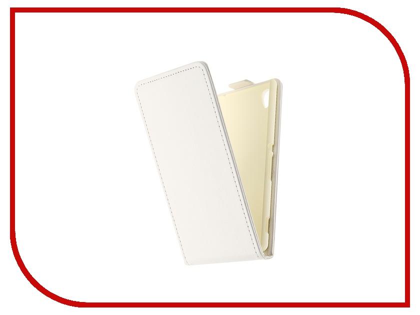 Аксессуар Чехол-флип Sony Xperia M4 Aqua SkinBox White T-F-SXM4A<br>