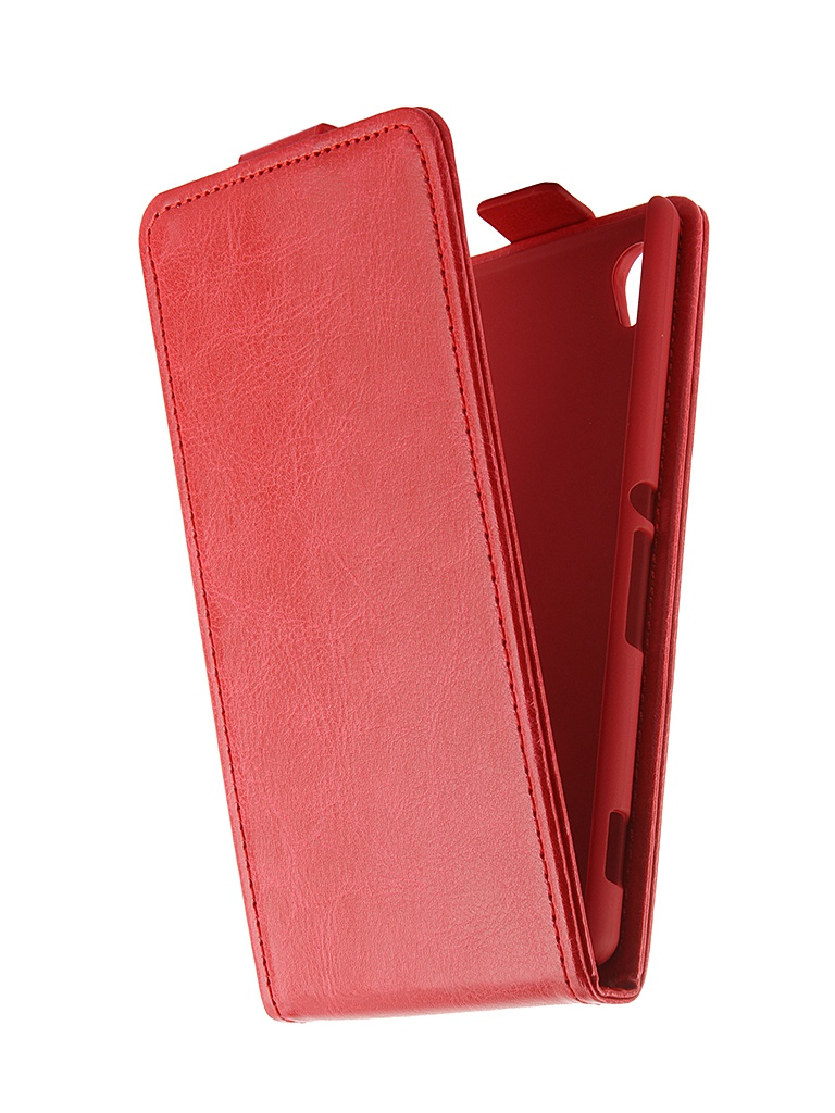 Аксессуар Чехол-флип Sony Xperia M4 Aqua SkinBox Red T-F-SXM4A
