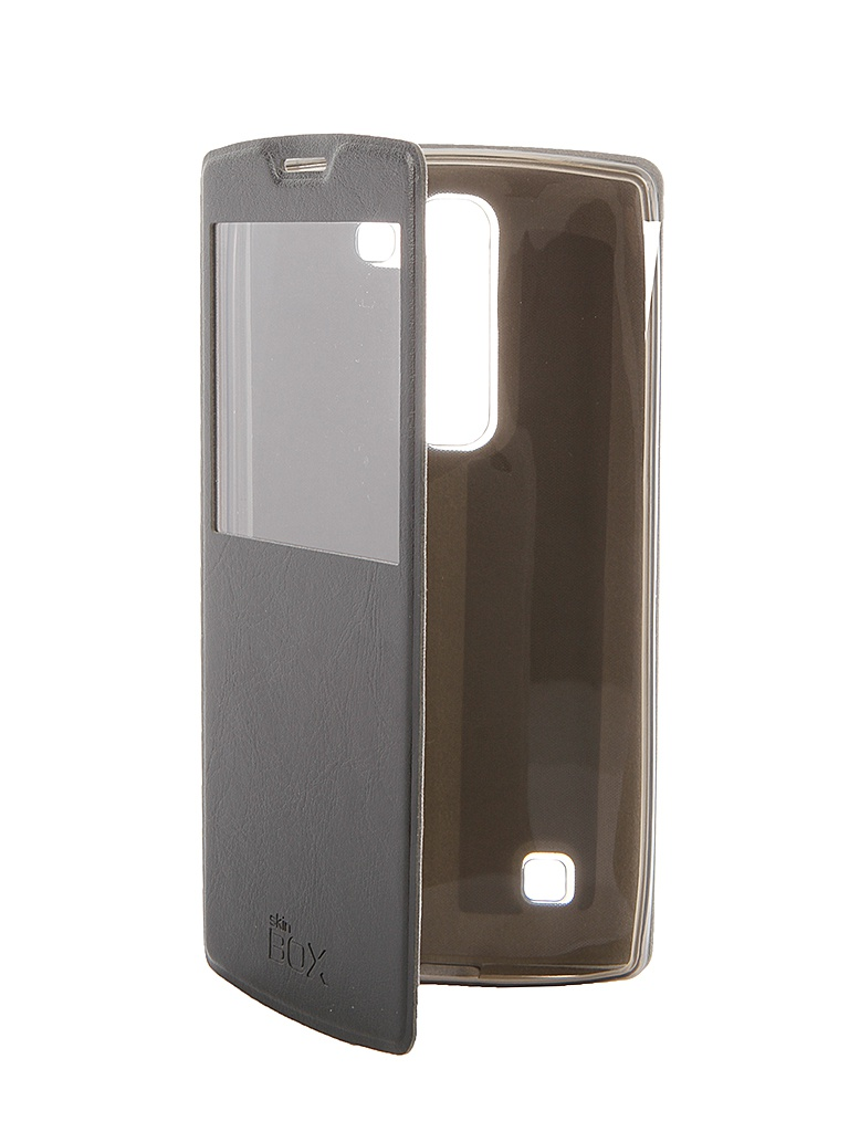 Аксессуар Чехол-флип Lenovo P90 SkinBox Black T-F-LP90