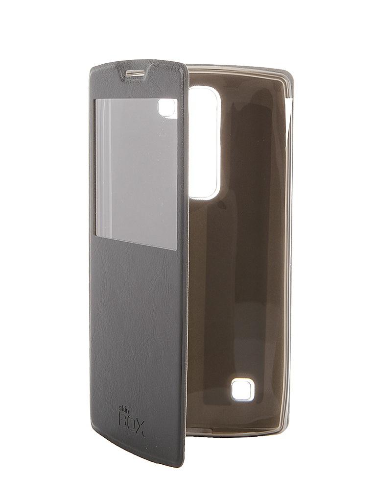 Аксессуар Чехол LG Magna SkinBox Lux AW Black T-S-LM-004