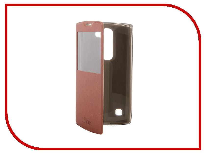 Аксессуар Чехол LG Magna SkinBox Lux AW Brown T-S-LM-004<br>