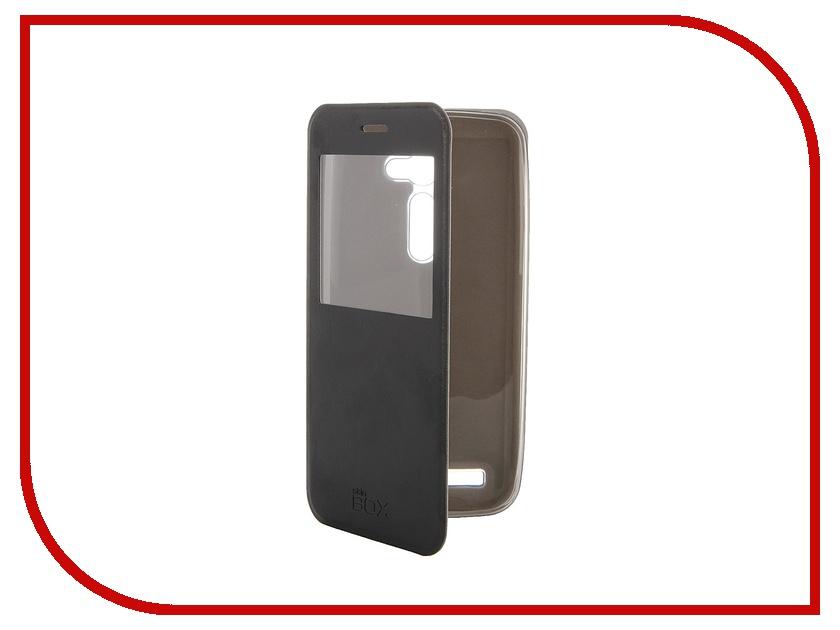 Аксессуар Чехол ASUS ZenFone 2 ZE500C SkinBox Lux AW Black T-S-AZE550CL-004<br>