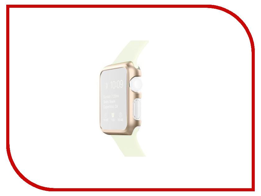 Аксессуар Клип-кейс APPLE Watch 42mm Spigen SGP Thin Fit Champagne SGP11501<br>