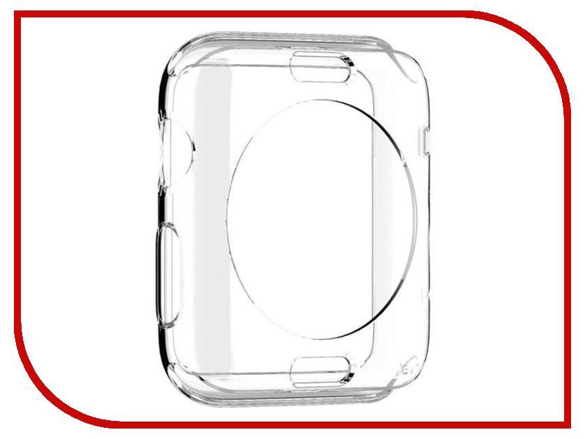 ��������� ����-���� APPLE Watch 42mm SGP Liquid Cristal Transparent SGP11495