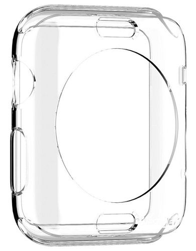 Аксессуар Клип-кейс APPLE Watch 42mm SGP Liquid SGP11495 Cristal Transparent