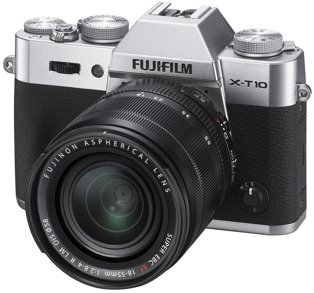 Фотоаппарат FujiFilm X-T10 Kit 18-55 mm Silver<br>