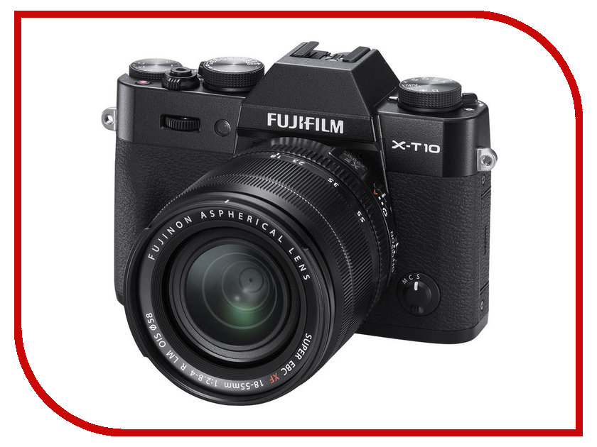 Zakazat.ru: Фотоаппарат FujiFilm X-T10 Kit 18-55 mm Black