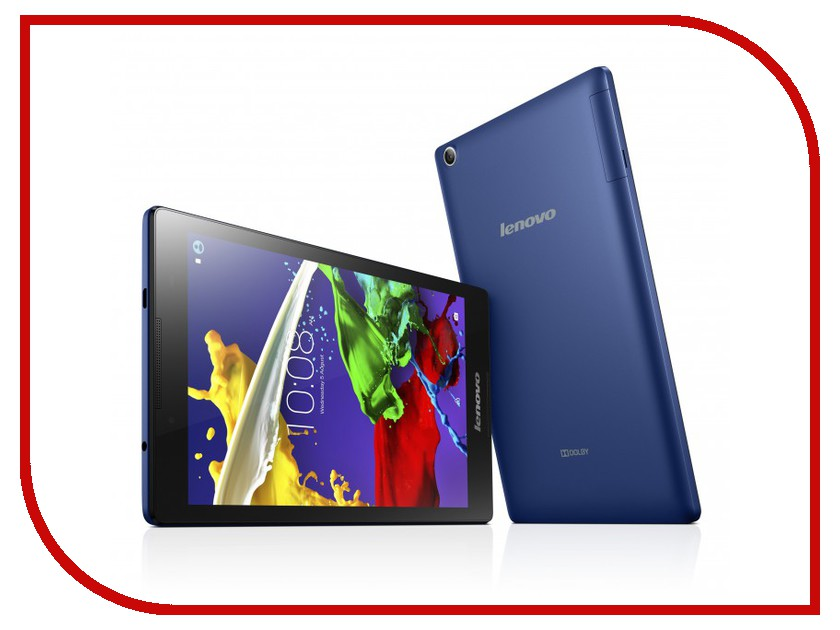 Планшет Lenovo TAB 2 A8-50LC 16Gb ZA050025RU Blue (MediaTek MTK8735 1.3 GHz/1024Mb/16Gb/Wi-Fi/3G/LTE/Bluetooth/Cam/8.0/1280x800/Android) планшет lenovo yoga tablet 3 8 16gb 4g yt3 850m slate black za0b0018ru qualcomm msm8909 1 3 ghz 1024mb 16gb wi fi 3g lte bluetooth cam 8 0 1280x800 android