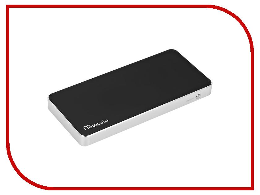 Аккумулятор Molecula 10000 mAh PB-10-01SLB Black<br>