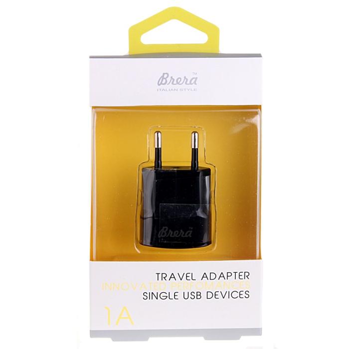 Зарядное устройство Brera TAU1-1 1A Black 35995