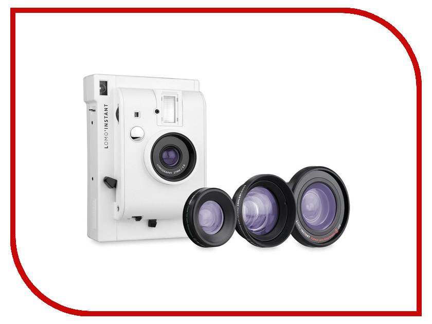 Zakazat.ru: Фотоаппарат Lomography LomoInstant White LI800W