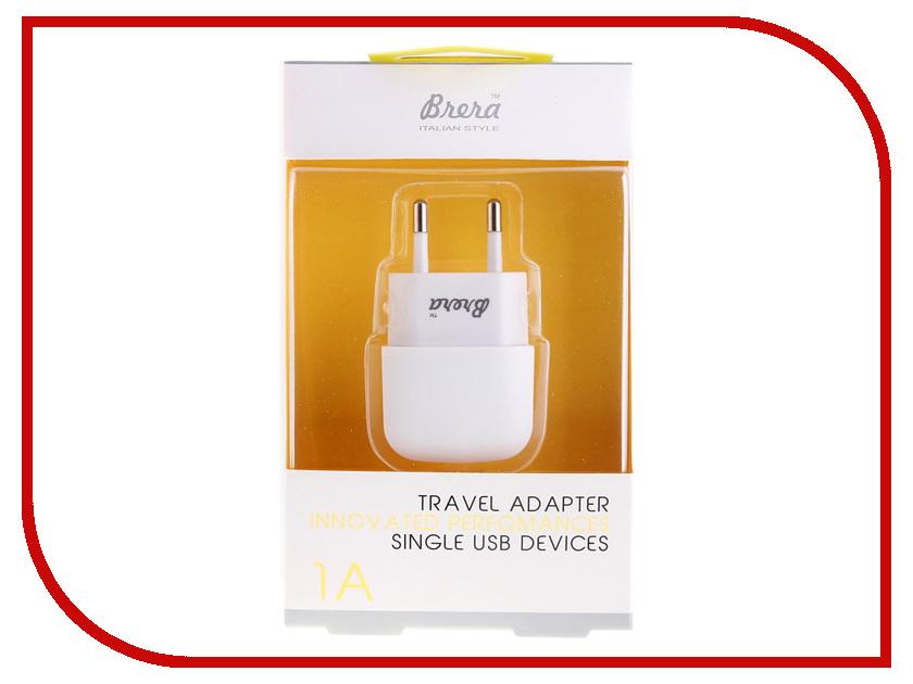 Зарядное устройство Brera TAU2-1 1A White 35998