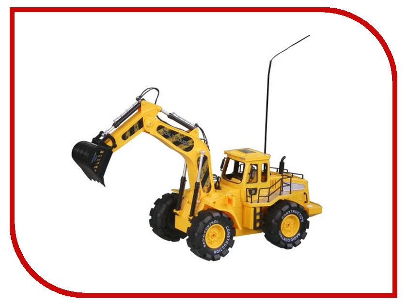 Радиоуправляемая игрушка Пламенный мотор Трактор - Экскаватор 87570