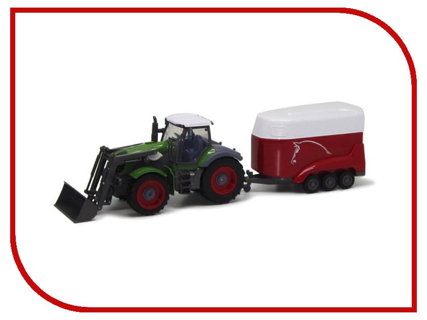 Радиоуправляемая игрушка Пламенный мотор Трактор колесный 87573