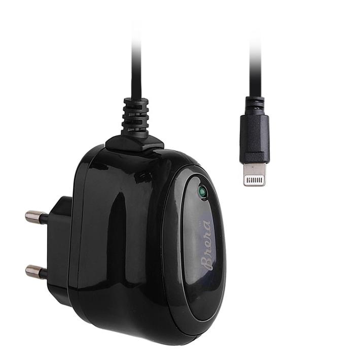Зарядное устройство Brera Classic Lightning 1A Black-Black 47188