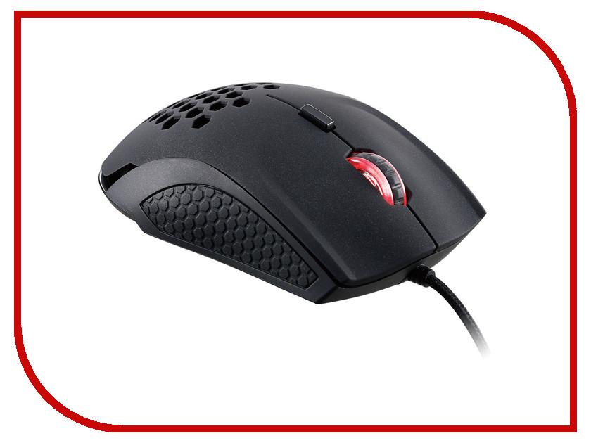 Мышь проводная Tt eSports By Thermaltake Gaming mouse Ventus X MO-VEX-WDLOBK-01 Black<br>