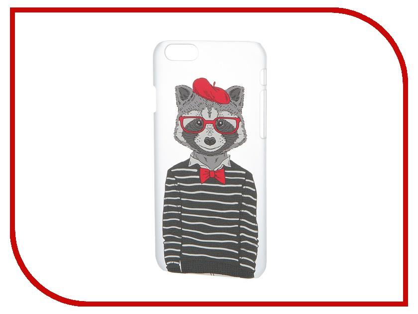 Аксессуар Чехол iPapai для iPhone 6 Hipsta Animals Енот