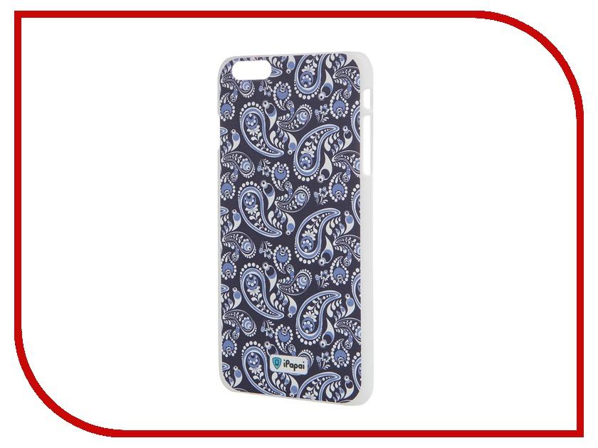Аксессуар Чехол iPapai для iPhone 6 Plus Гжель Blue<br>