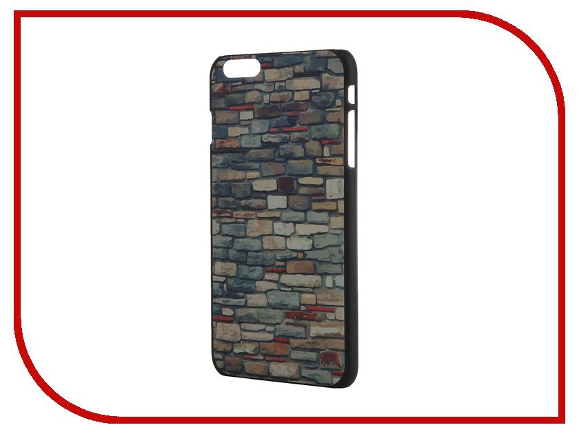 Аксессуар Чехол iPapai для iPhone 6 Plus Дерево Кирпич<br>