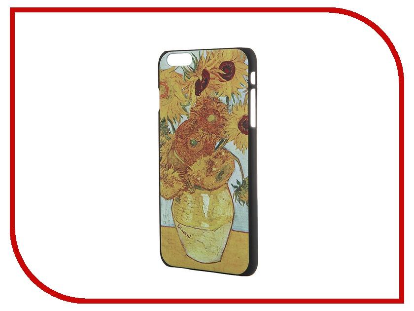 Аксессуар Чехол iPapai для iPhone 6 Plus Картины Ван Гог Подсолнухи<br>
