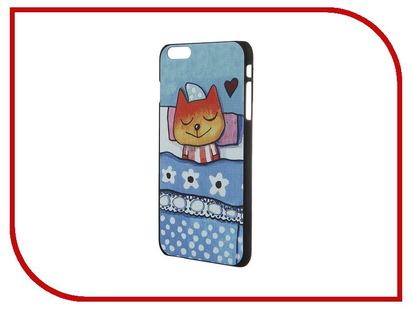 Аксессуар Чехол iPapai для iPhone 6 Plus Спящие звери Лисенок<br>