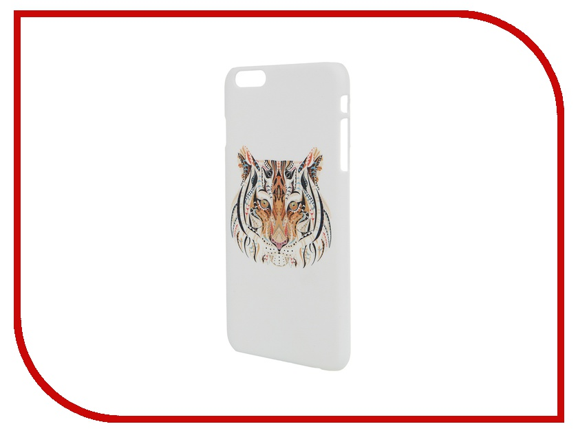 Аксессуар Чехол iPapai для iPhone 6 Plus Тотемы Тигр аксессуар чехол elari для elari cardphone и iphone 6 plus blue