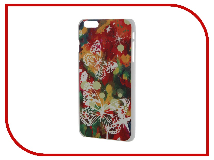 Аксессуар Чехол iPapai для iPhone 6 Plus Флора Бабочки<br>