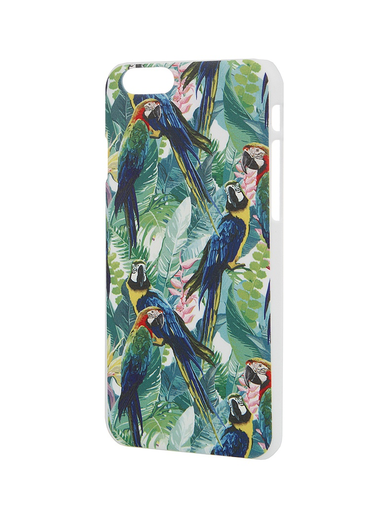 Аксессуар Чехол iPapai для iPhone 6 Флора Попугаи<br>