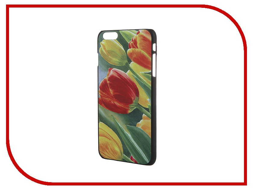 Аксессуар Чехол iPapai для iPhone 6 Plus Цветы Тюльпаны<br>