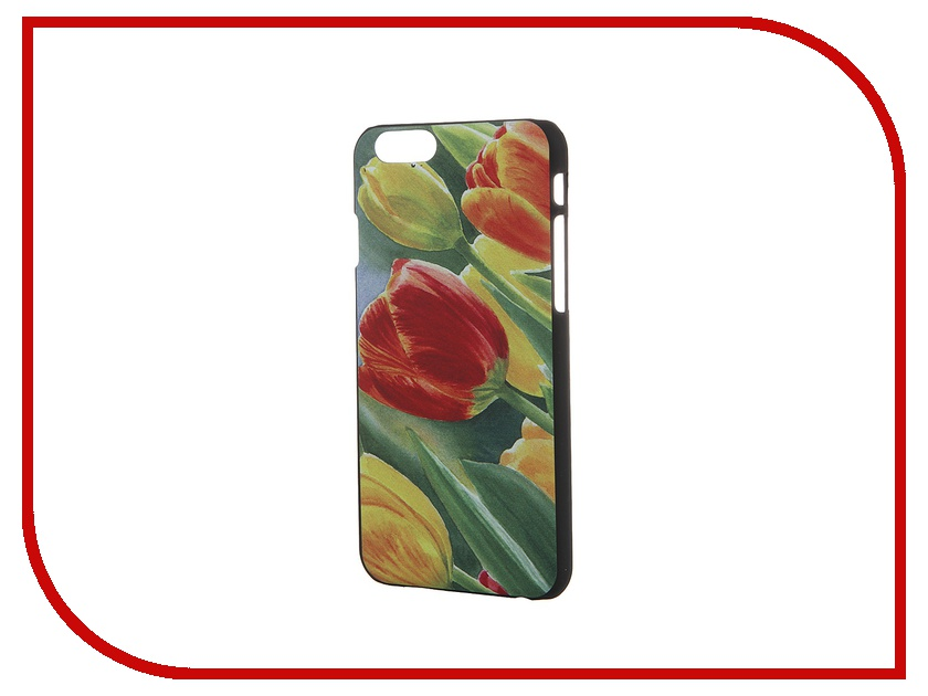 Аксессуар Чехол iPapai для iPhone 6 Цветы Тюльпаны<br>
