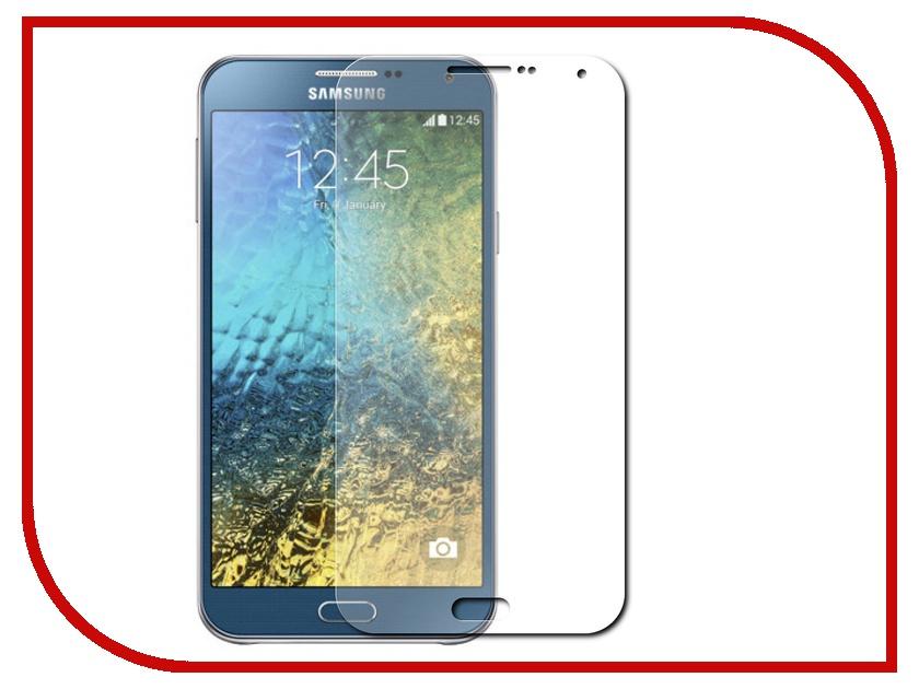 Аксессуар Защитная плёнка Samsung Galaxy E7 SM-E700 Activ матовая 48371 аксессуар чехол накладка samsung galaxy sm e700 e7 activ silicone rose mat 46704