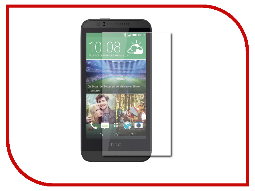 Аксессуар Защитная плёнка HTC Desire 510 Activ 44013 защитная плёнка для htc desire 650 суперпрозрачная luxcase