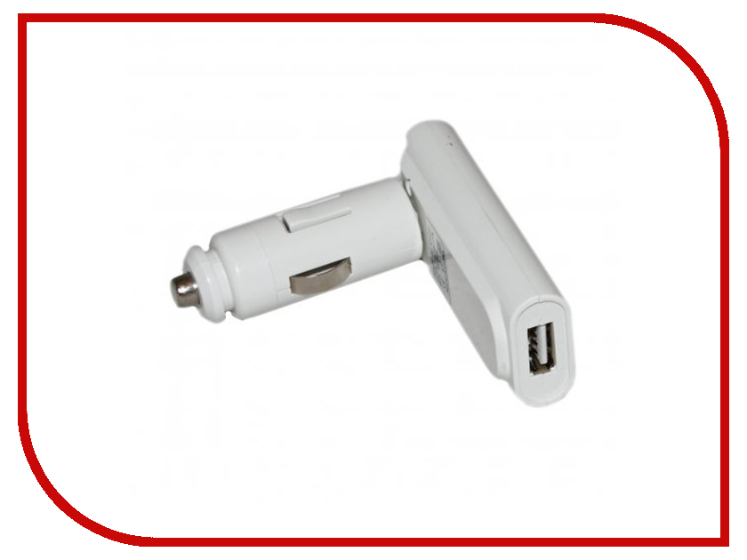 Зарядное устройство Activ АЗУ-USB ACT-USB-AD White 17060<br>