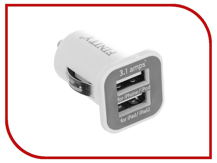 Зарядное устройство Finity 2xUSB 2.1A/1A FC-02 White<br>