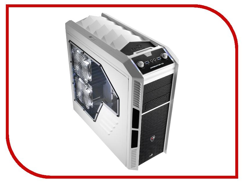 Корпус AeroCool Xpredator X3 White Edition aerocool v3x advance black edition компьютерный корпус