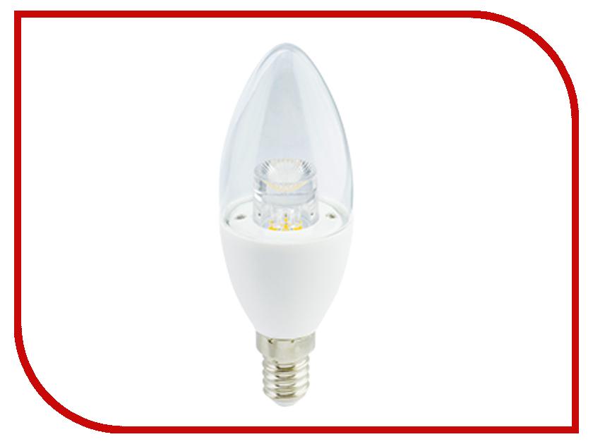 Лампочка Ecola Candle LED E14 7W 220V 4000K C4QV70ELC jrled dimmable e14 3w 210lm 6300k 3 led white light candle lamp bulb white golden 220v
