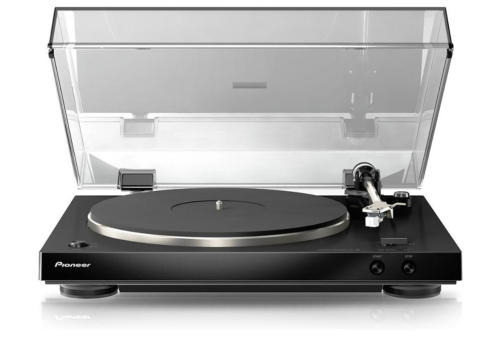 Проигрыватель виниловых дисков Pioneer PL-30K Black проигрыватель виниловых дисков pioneer plx 500 black