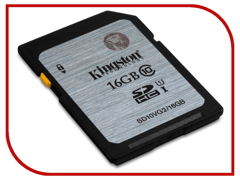 Карта памяти 16Gb - Kingston High-Capacity Class 10 - Secure Digital SD10VG2/16GB sd wifi card купить