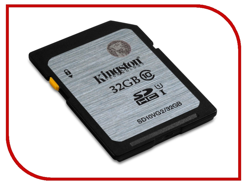 Карта памяти 32Gb - Kingston High-Capacity Class 10 - Secure Digital SD10VG2/32GB sd wifi card купить