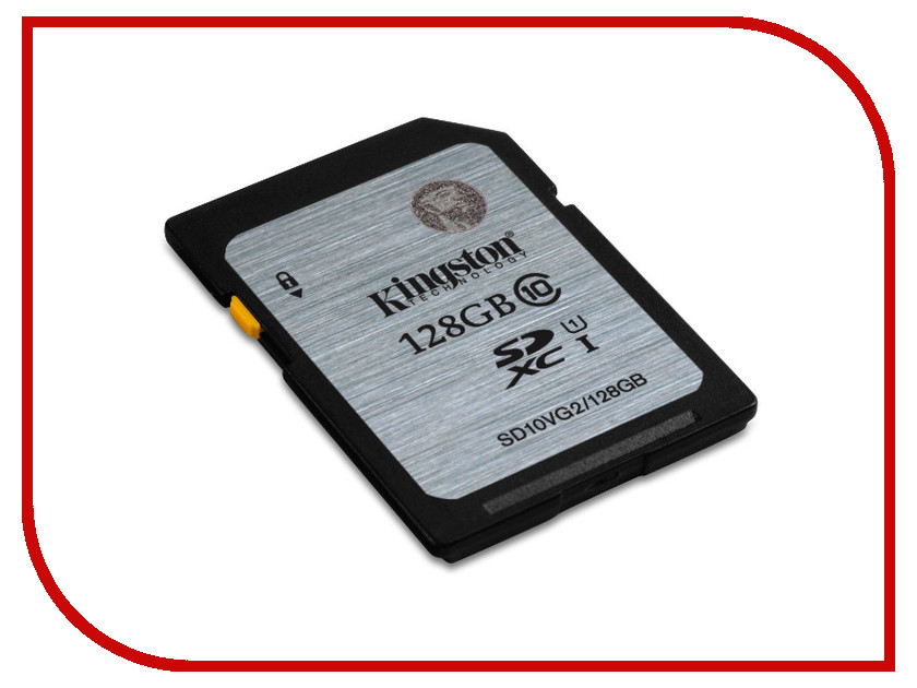 Карта памяти 128Gb - Kingston High-Capacity Class 10 - Secure Digital SD10VG2/128GB sd wifi card купить