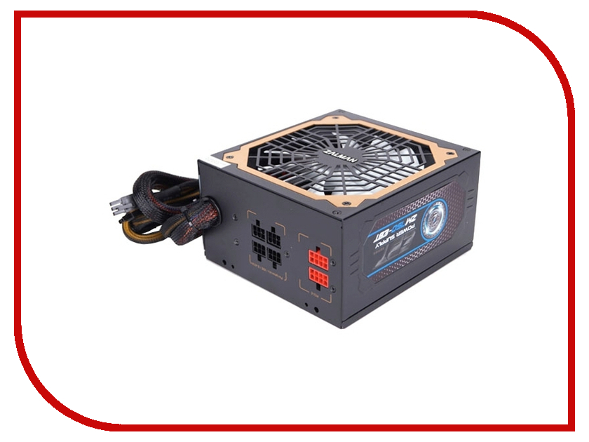 Блок питания Zalman ZM750-EBT 750W блок питания atx 650 вт zalman zm650 ebt